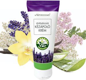 Naturissimo Levendulás Kézápoló Krém