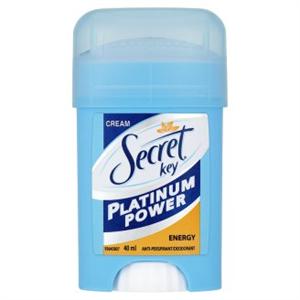 Secret Key Platinum Power Energy Női Izzadásgátló Krémdezodor