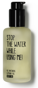 Stop The Water While Using Me! All Natural Almond Fig Body Oil