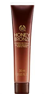 The Body Shop Honey Bronze Bronzing Gél Arcra