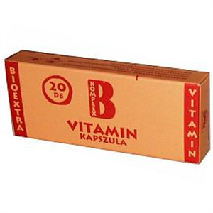 Bioextra Vitamin B Komplex Lágy Kapszula