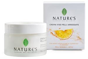 Nature's Crema Viso Pelli Arrossate SPF20