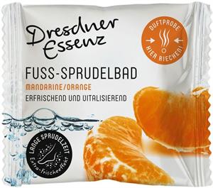 Dresdner Essenz Fuss-Sprudelbad Mandarine/Orange