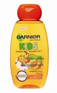 Garnier Natural Kids Sárgabarack és Pamutvirág Sampon