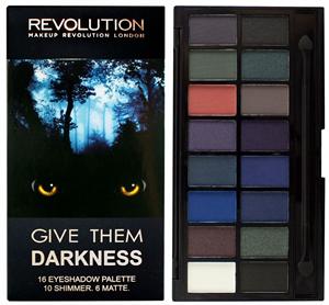 MakeUp Revolution Give Them Darkness