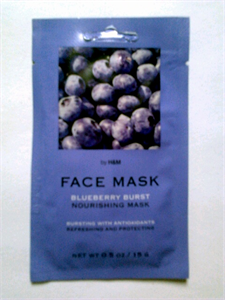 H&M Blueberry Burst Nourishing Mask