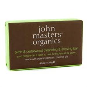 John Masters Organics Birch and Cedarwood Cleansing and Shaving Bar