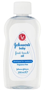 Johnson's Baby First Touch Oil