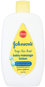 Johnson's Top-to-Toe Baby Massage Lotion