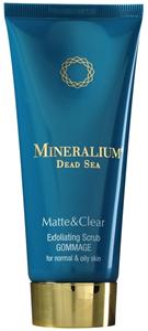 Mineralium Matte & Clear Mélytisztító Bőrradír Arcra