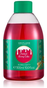 Oriflame Frosted Berry Cake Habfürdő