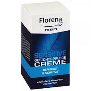 Florena Men Sensitive Gesichtspflege Creme SPF6
