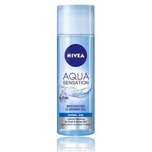 Nivea Visage Aqua Sensation Élénkítő Arclemosó Zselé