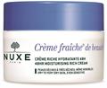 Nuxe Crème Fraîche De Beauté 48 Órás Hidratáló Krém Száraz és Nagyon Száraz Bőrre