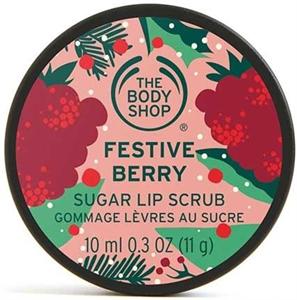 The Body Shop Festive Berry Cukros Ajakradír