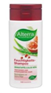 Alterra Hidratáló Hajsampon Gránátalma és Aloe vera