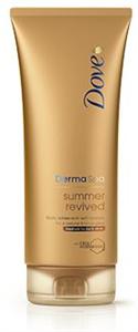 Dove Derma SPA Summer Revived Önbarnító Testápoló (Normál és Sötét Bőrre)