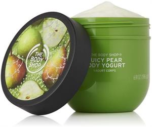 The Body Shop Juicy Pear Testjoghurt