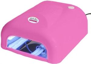 Master Nails Műkörmös UV Lámpa 4 x 9 W Alagút Pink