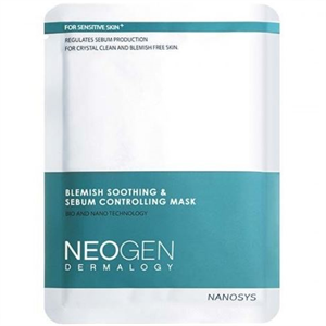 Neogen Blemish Soothing & Sebum Controlling Mask