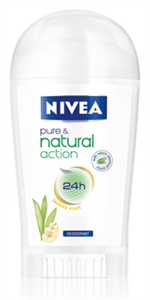 Nivea Pure & Natural Action Jasmine Deo Stift