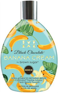 Brown Sugar Double Dark Black Chocolate Banana Cream 400X