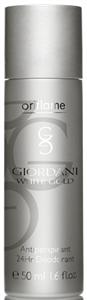 Oriflame Giordani White Gold 24 órás Izzadásgátló Golyós Dezodor