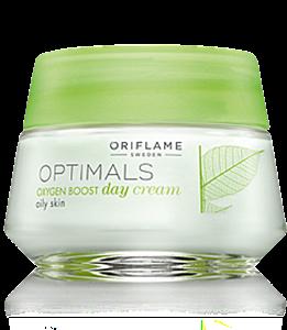 Oriflame Optimals Oxygen Boost Oxigénes Nappali Krém Zsíros Bőrre