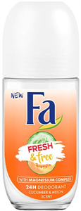Fa Fresh & Free Cucumber-Melon Golyós Deo