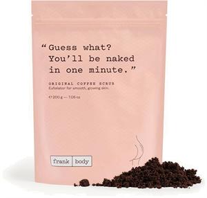 Frank Body Original Coffee Scrub Testradír