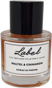 Label Parfum Maltol & Cinnamon Extrait De Parfum