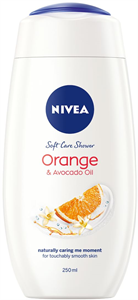 Nivea Caring Orange&Avocado Oil Krémtusfürdő