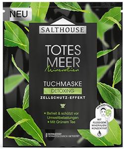 Salthouse Luxus Totes Meer Tuchmaske Detoxing