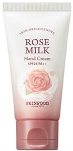 Skinfood Rose Milk Hand Cream SPF25 PA++
