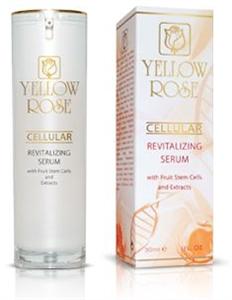 Yellow Rose Cellular Sejtrevitalizáló Szérum Növényi Őssejtekkel