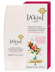 A'kin Creamy Cleanser & Toner