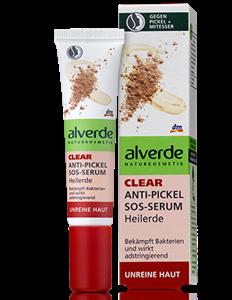 Alverde Clear Anti-Pickel Sos-Serum