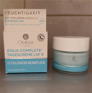 Ombia Aqua-Complete Tagescreme LSF6 Hyaluron-komplex