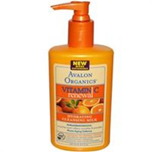 Avalon Organics C-Vitaminos Hidratáló Arclemosó Tej