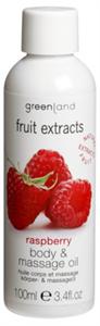 Greenland Fruit Extracts Masszázsolaj Málna