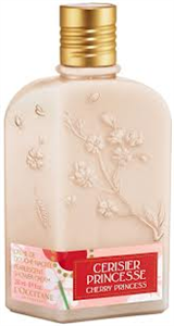 L'occitane Cherry Princess Pearlescent Shower Cream