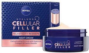 Nivea Hyaluron Cellular Filler Elasticity Reshape Éjszakai Krém