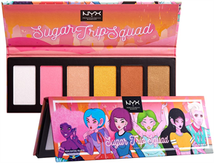 Nyx Professional Makeup Sugar Trip Squad Highlighter Palette