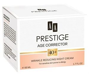 AA Prestige Age Corrector 40+ Ránctalanító Éjszakai Krém