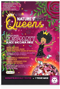 Diet Esthetic Nature's Night Queens Post-Party Black Baccara Rose Szövetmaszk
