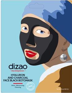 Dizao Masterpieces Tisztító Fekete Maszk Hialuron Savval