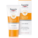 Eucerin Sun Sensitive Protect Napozó Krém Arcra FF50+