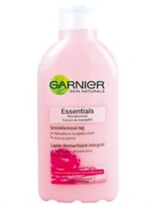 Garnier Essentials Sminklemosó Tej Száraz és Érzékeny Bőrre