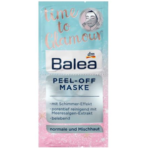 Balea Time To Glamour Peel-Off Maszk