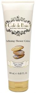 Cafe De Bain Sweet Vanilla Madeleine Softening Shower Creme - Tusolókrém